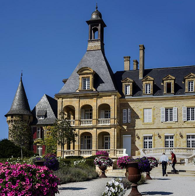 L'aile gauche (droite ?) du château