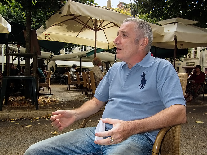 Georges Gravé vient de passer à Périgueux régler des dossiers pour sa retraite à venir