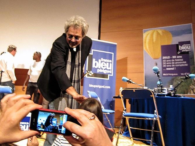 Patrick Hernandez (Born to be alive) à Périgueux 2012 - par Alain Bernard