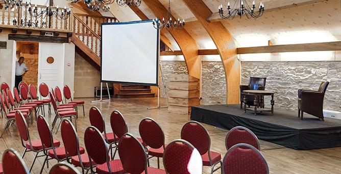 Salle de réunion pour les séminaires