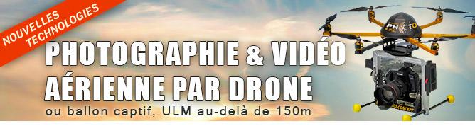 Photographie aérienne à l'aide d'un drone par Dominique Louis sur altitudephoto.fr