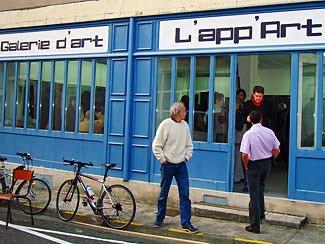 La galerie l'App'Art à Périgueux