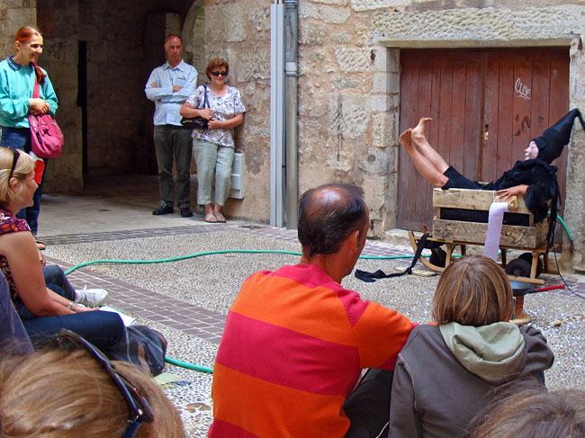 MIMOS 2009 Cie de Mazette dans la galerie Daumesnil