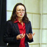 Anne-Gaëlle Burban à la Visitation le 7 avril 2009