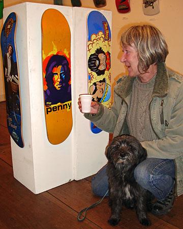 Belinda Back, mère écossaise de Tom Penny, skateboardeur