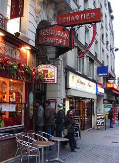 Restaurant Le Bouillon Chartier 7 rue du Faubourg Montmartre 75010Paris