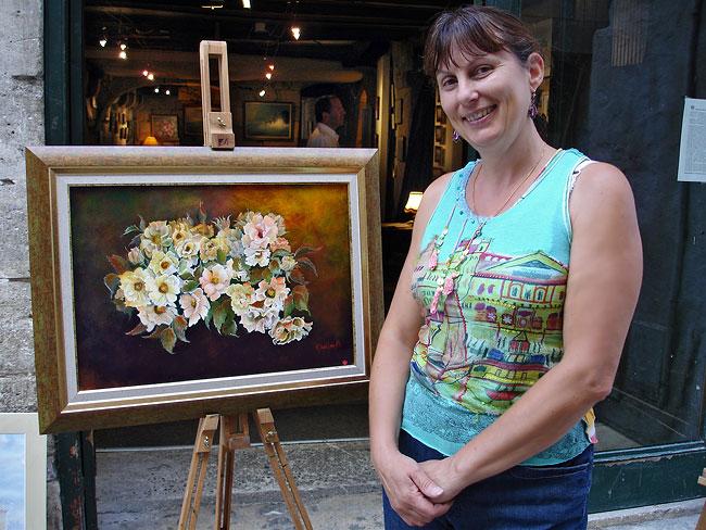 Brigitte Quelin peintre en Dordogne