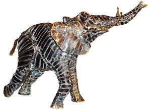 Sculpture de Brigitte Rey & Sylvie Camus