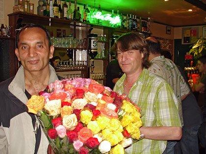 Pascal Mesmin dit Calou et notre marchand de romance
