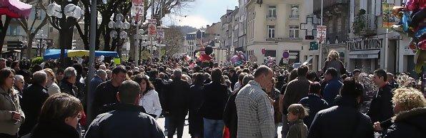 Carnaval de Périgueux 2008 - La foule