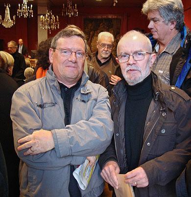 Christian Panissaud à gauche avec Marcel Pajot à droite