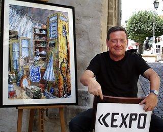P rigueux christian panissaud artiste peintre for Artiste peintre dordogne