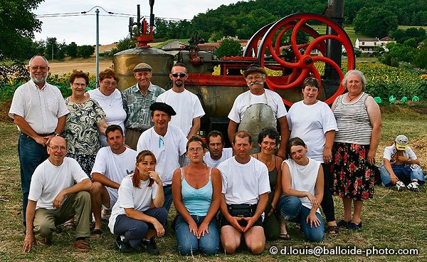 Les organisateurs de la fête agricole de Corneguerre - ABCEL