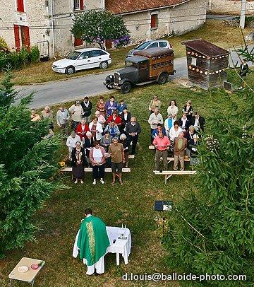 Messe en plein air dimanche 10 août 2008