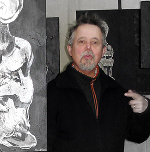 Daniel Faure peintre au Paradis Périgueux