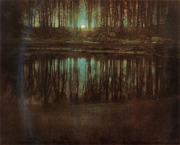 Mare au clair de lune par Edward Steichen - 1904