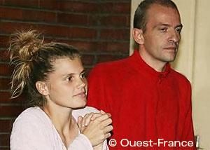 Photo d'Émilie Lelouch et Eric Breteau de l'Arche de Zoé
