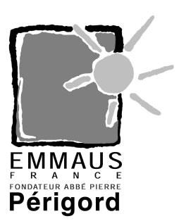 Logo Emmaus Périgord