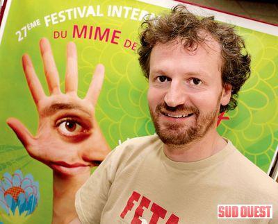 Etienne Bonduelle directeur artistique du MIMOS (2009). (PHOTO Steve Franco)