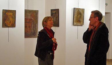 Ève Houdart au Château des Izards en janvier 2009