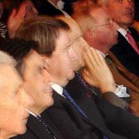 Yves Guena, Francois Fillon, Xavier Darcos, Alain Juppé, Jean-Louis Demaret