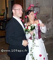 Guillaume Graffeille, lors de son mariage fin 2007 à Périgueux