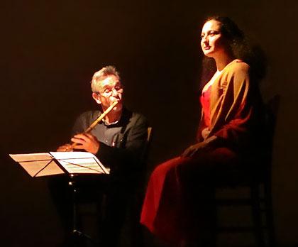 Haley Gheytanchi Tabrizi et Maurice Moncozet