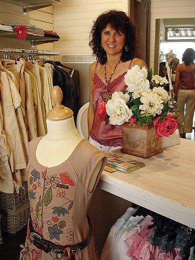 Isabelle Barbosa en septembre 2008