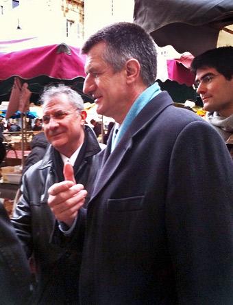 Jean Lassalle, député des Pyrénées-Atlantiques à Périgueux le 27 février 2010