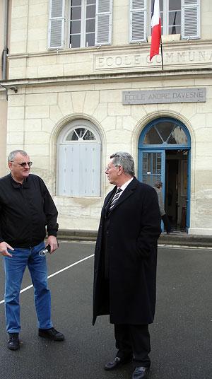 Jean-Paul Daudou, premier adjoint au maire de Périgueux