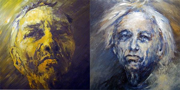 [1] Jorge-Luis Borges [2] Gyorgy Ligerti