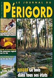 Couverture du Journal du Périgord - novembre 2008