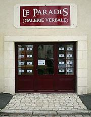 Le Paradis - Galerie Verbale - place Faidherbes