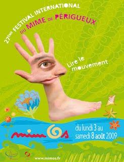 Affiche pour le MIMOS 2009 tout en français