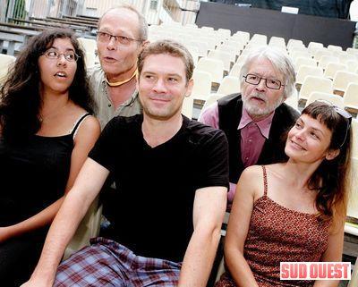 Le jury du MIMOS (2009). (PHOTO Steve Franco)