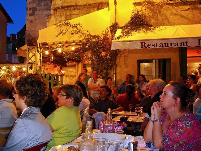 Jordi Matas - Macadam Jazz - place La Vertu - spectateurs