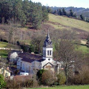 Église de Manzac 24110, Dordogne