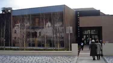 La Médiathèque de Trélissac près de Périgueux, Dordogne - ouverte début 2008