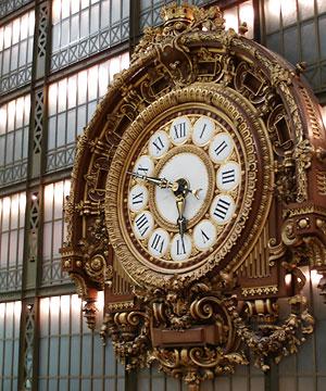 L'horloge au Musée d'Orsay