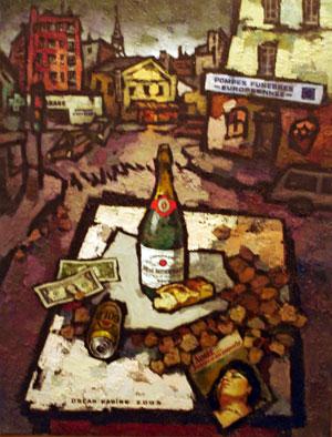 Pique-nique capitaliste par Oscar Rabine