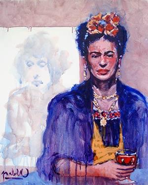 Pablo - Frida Kahlo - Bob Dylan esquisse
