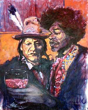 Pablo - Sitting Bull - Jimmy Hendrix
