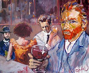 Pablo Van Gogh et Lautrec