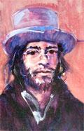 Pablo self-portrait Périgueux