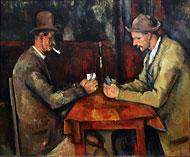 Cezanne, les joueurs de cartes