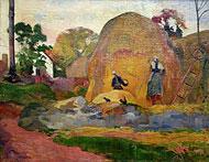 Gauguin, les meules jaunes
