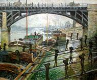Monet, les charboniers