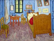 Van Gogh, la chambre à Arles