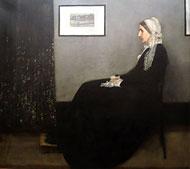 Whistler, arrangement gris et noir