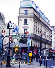 Bouche de métro Paris 2008
